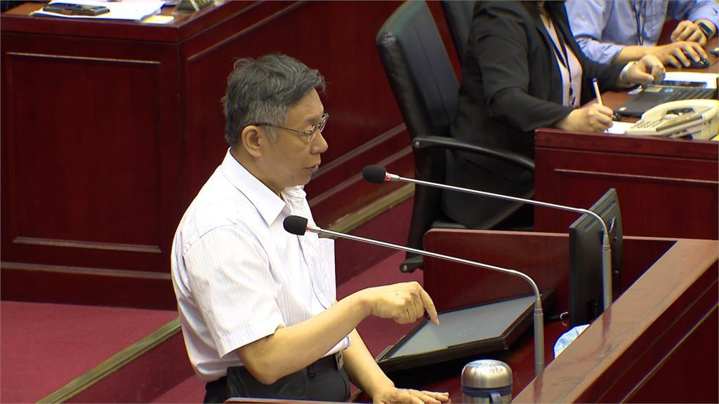 陳佩琪稱「台灣警示WHO是硬拗」惹議 柯文哲:不能要她不講話