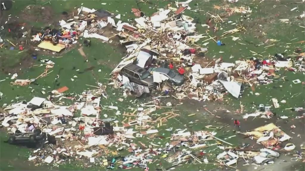 熱帶風暴、龍捲風夾擊 強風豪雨肆虐北卡羅來納