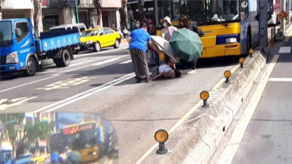 買菜遇死劫!老婦過斑馬線慘遭公車撞死