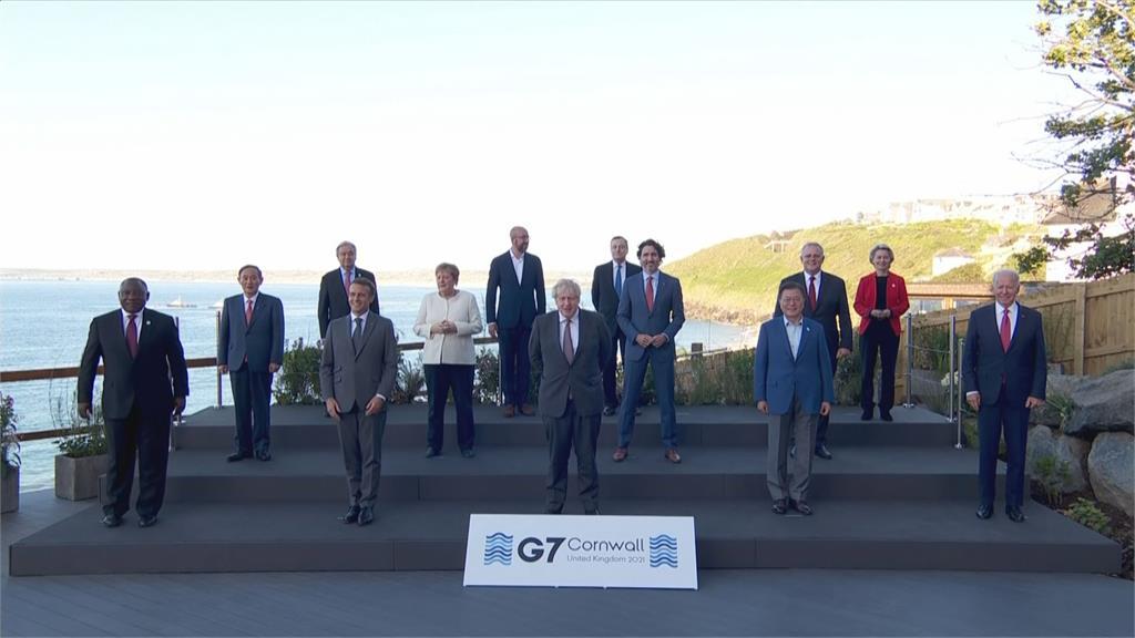 G7公報再提疫情問責 領袖承諾捐全球10億劑疫苗
