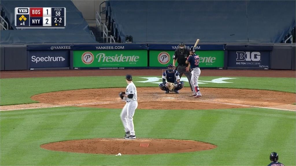 MLB/主場開幕戰對上世仇紅襪!洋基5:1奪4連勝