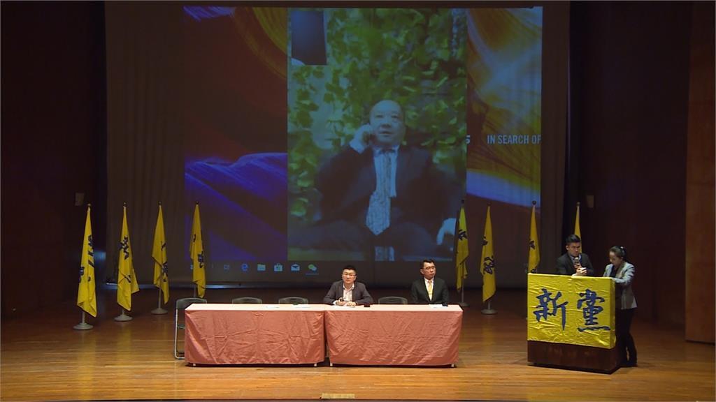 新黨視訊武統學者李毅 總統:不歡迎這樣言論