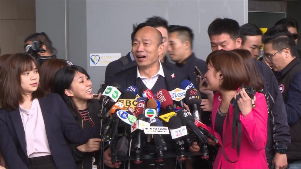 韓國瑜找特勤合照被罵翻 高市府:事前向國安局報備