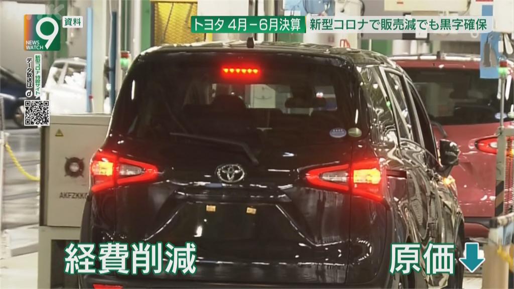 日大廠豐田上季確保獲利 預估全年盈利7300億日圓