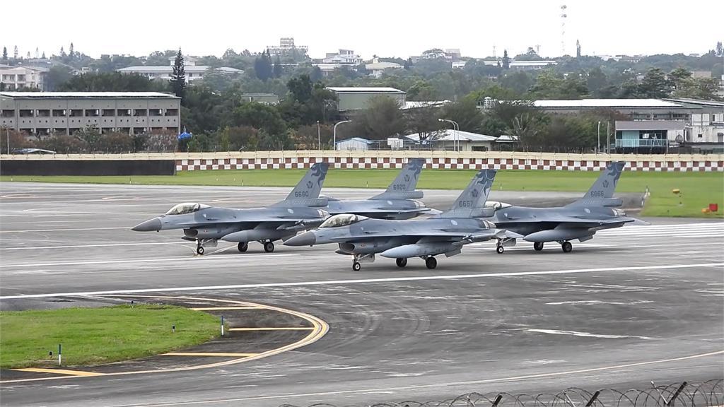 天安特檢完成 花蓮F-16今復飛