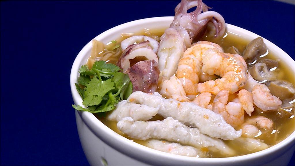 海味麵線香!小卷、蝦仁、虱目魚條滿滿鮮味