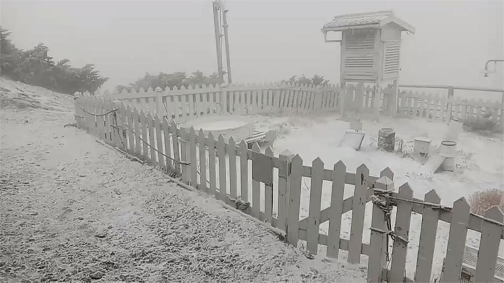 玉山再飄三月雪!明北部低溫14度 下周一回暖