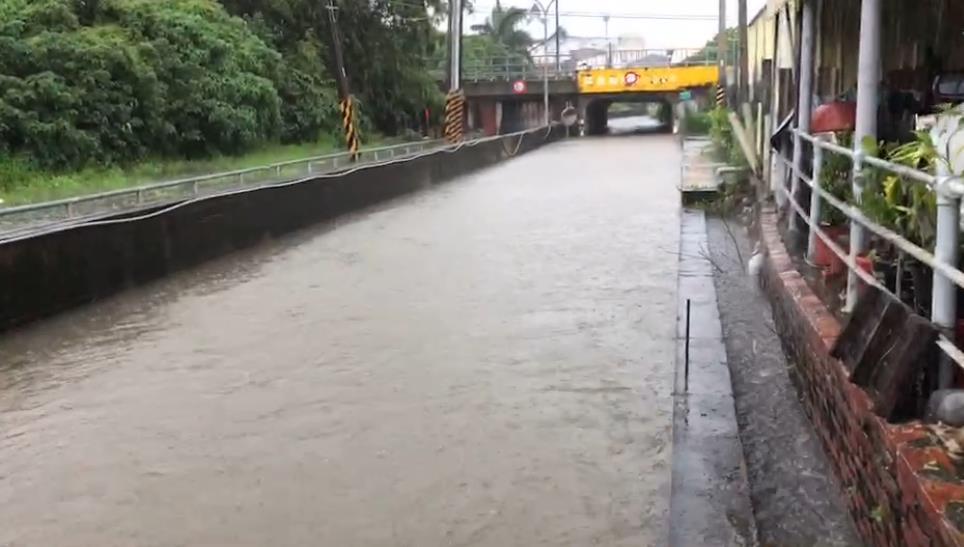 豪雨恐致災?台南已封4道路、12座橋梁