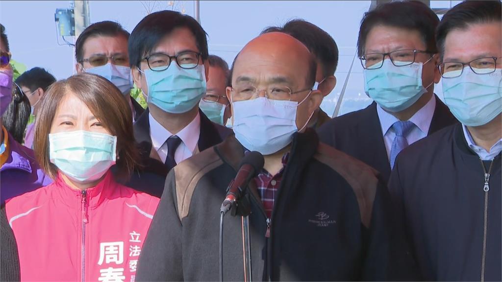 馬英九:開放萊豬圖利美國藥廠 蘇揆:謠言
