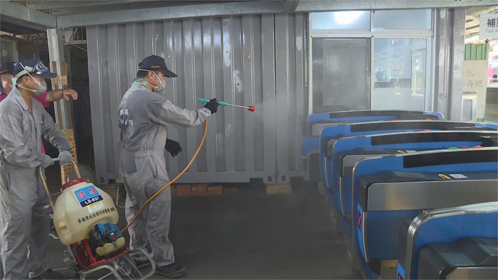本土疫情爆發 台南棒球場.阿里山鐵路防疫升級
