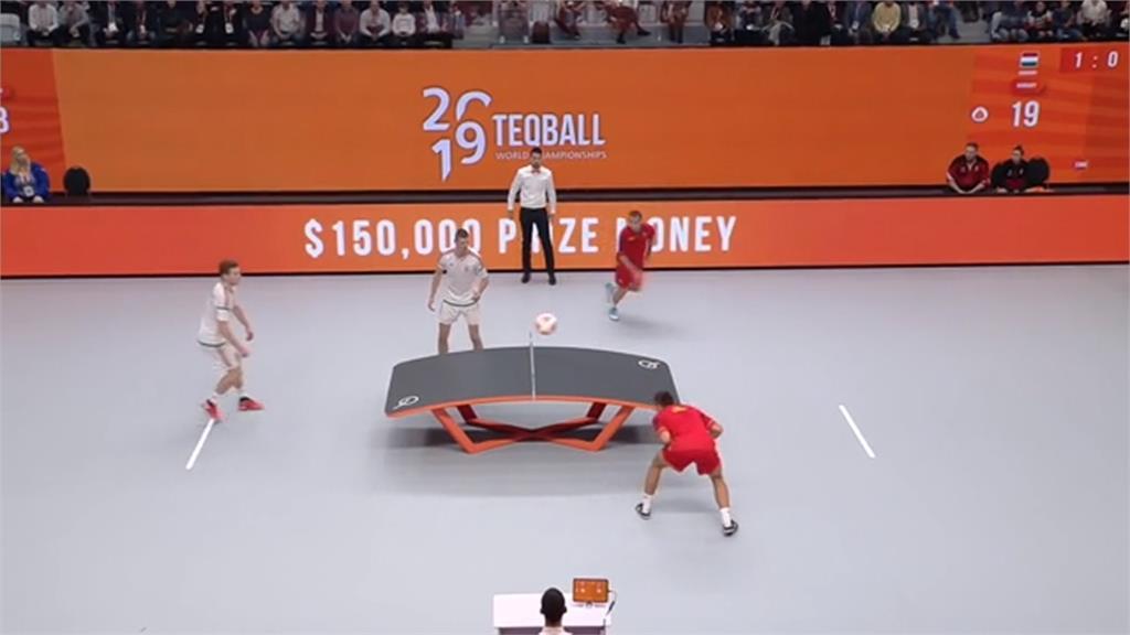 桌球用踢的!匈牙利新興桌上足球辦世界盃