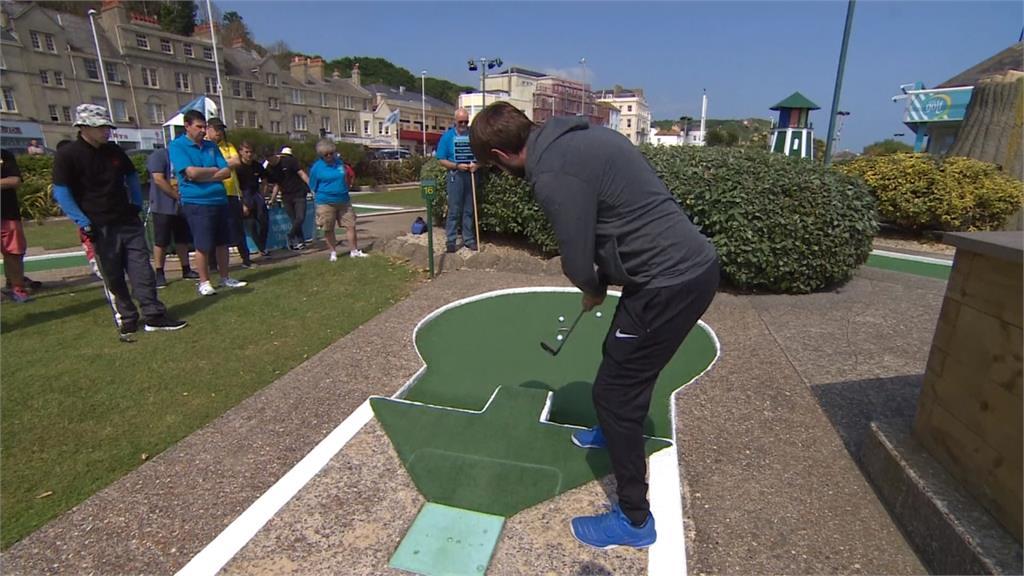 迷你高爾夫世錦賽 頂尖高手來真的