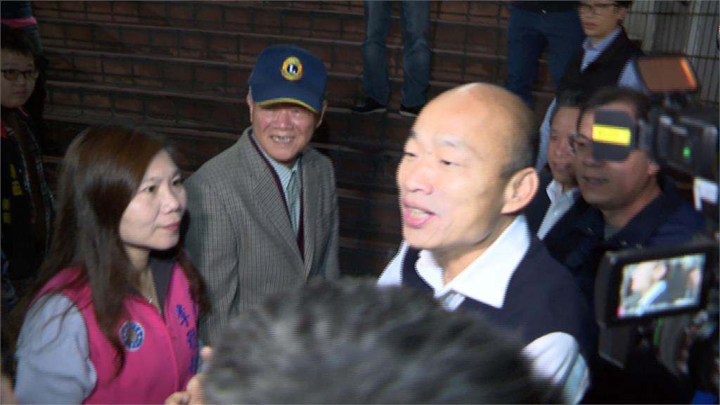 韓國瑜清晨視察市場、魚市 攤商嗆「滾出高雄」