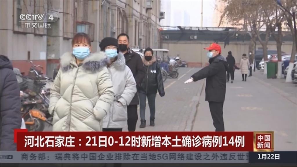 中國疫情續升溫 北京上海新疫情 河北東北病例持續大增