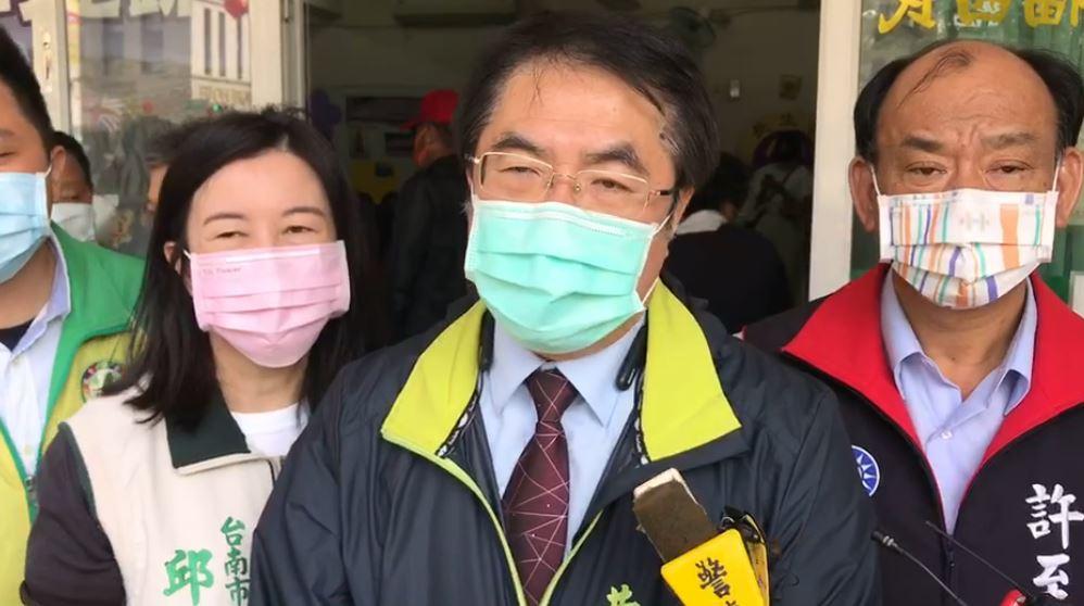快新聞/台南8天2起黑道凶殺案 黃偉哲:掃黑行動不分縣市或政黨顏色