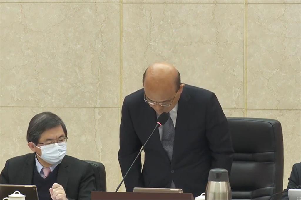 快新聞/ 蘇貞昌鞠躬致歉:政府責無旁貸