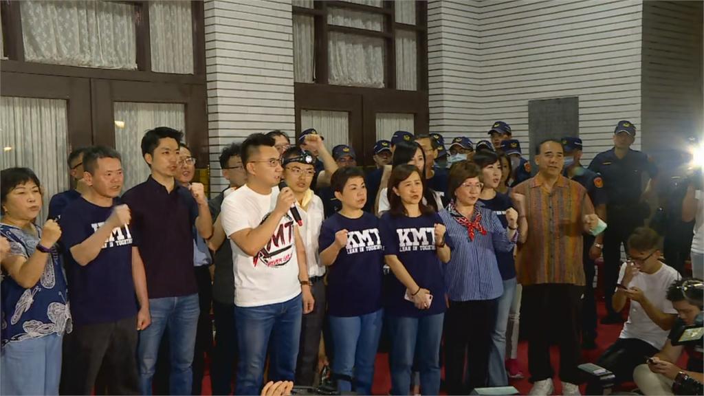 快新聞/藍委占議場杯葛監委人事 總統府批:把台灣民主當人質