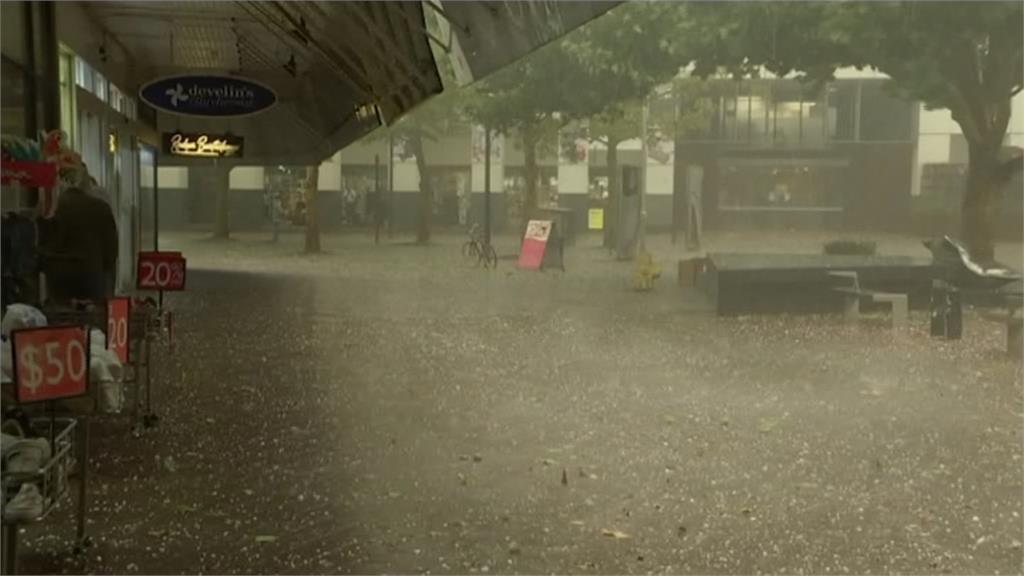 水火肆虐!澳洲東部下起沙塵暴冰雹 居民:宛如地獄