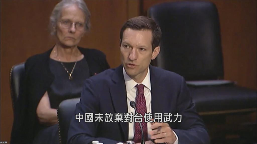 中國6年內恐侵台 美議員重提