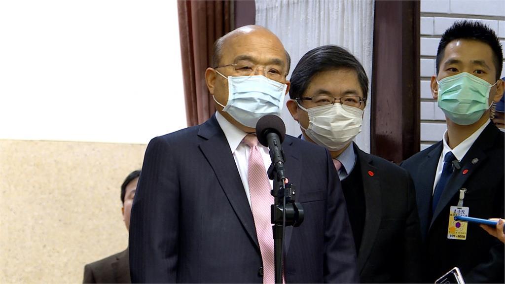 捐口罩遭藍營質疑 蘇貞昌用「媽媽的話」澄清政府絕對沒暗槓