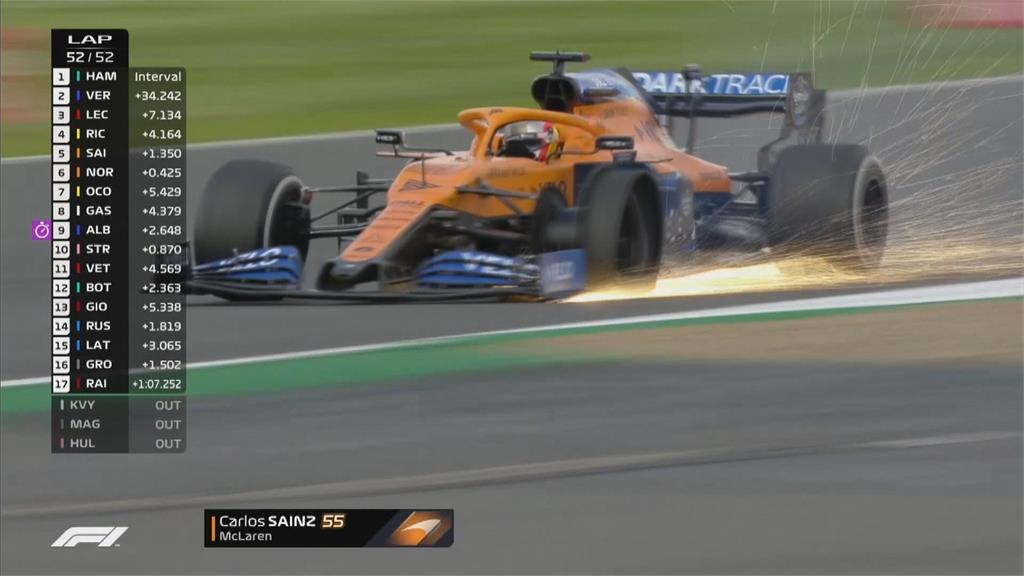 離車神只剩4步! 漢米爾頓F1英國賽封王 生涯87冠緊追舒馬克