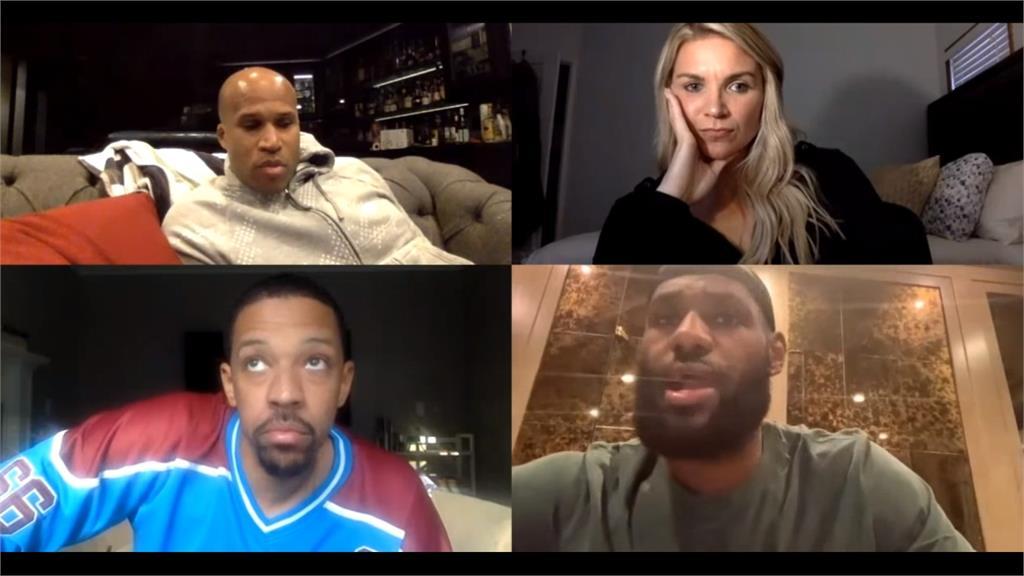 NBA/被疫情衝擊驚嚇?LBJ:以後不再跟別人擊掌