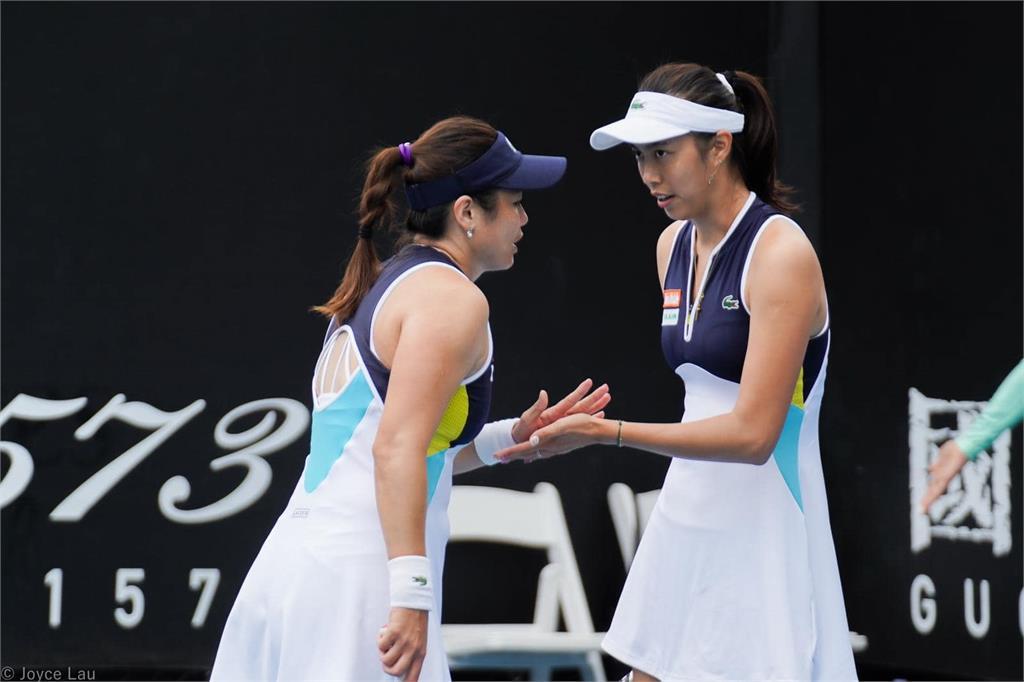 謝淑薇、詹家姐妹晉4強 澳網女雙決賽瞄準台灣對決