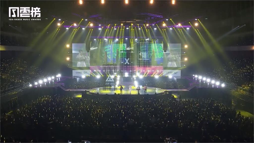 中華電信5G助陣 KKBOX年度音樂風雲榜「異地共演」零時差