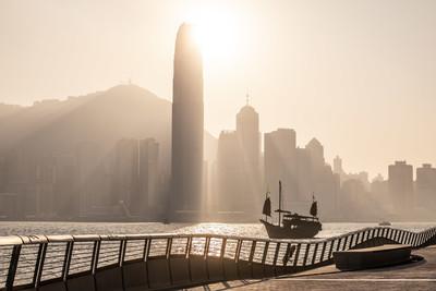 香港著名景點星光大道重開