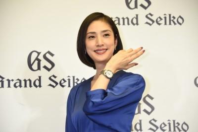 日本女星天海祐希擔任Grand Seiko亞洲區大使 為亞洲國家記者舉行新聞發佈會