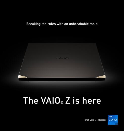 VAIO®打造全球首款碳纖筆記型電腦