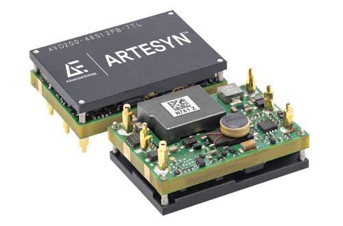 Advanced Energy 推出一款適用於電信和資料通訊設備的超小型、高功率密度直流/直流電源轉換器