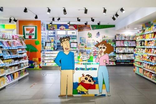 期間限定7-Eleven x 蠟筆小新主題概念店