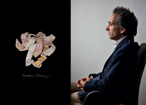 一切皆星塵:獻給巴黎藝術珠寶大師Frédéric Zaavy的專著