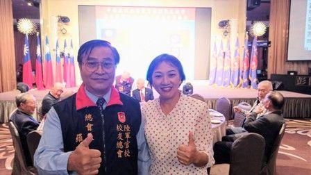 臺北市榮服處池處長出席陸軍官校校友總會會員大會,聯結服務照顧網絡