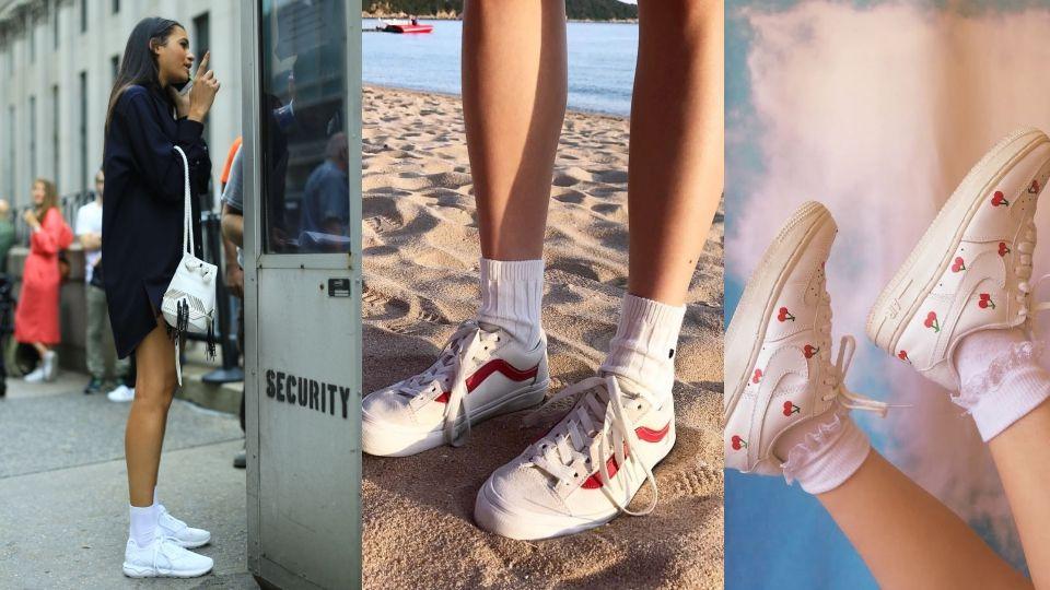 穿對襪子,一秒躍升時尚達人!原來「長襪」才是腳踝顯瘦的秘密武器~3大穿搭重點!