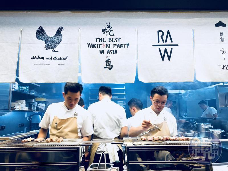 一根竹籤串起亞洲名廚 RAW夏日燒烤派對