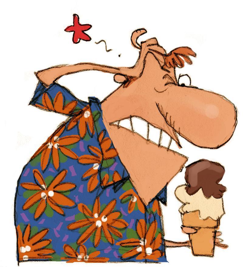 吃冰吃太快讓你頭痛嗎?舒緩「凍腦」症狀 試試這幾招